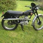 1954 ISDT team bike