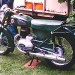 Mike Ahern's restored Cruiser 75